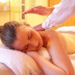 Avslappnande massage på kund